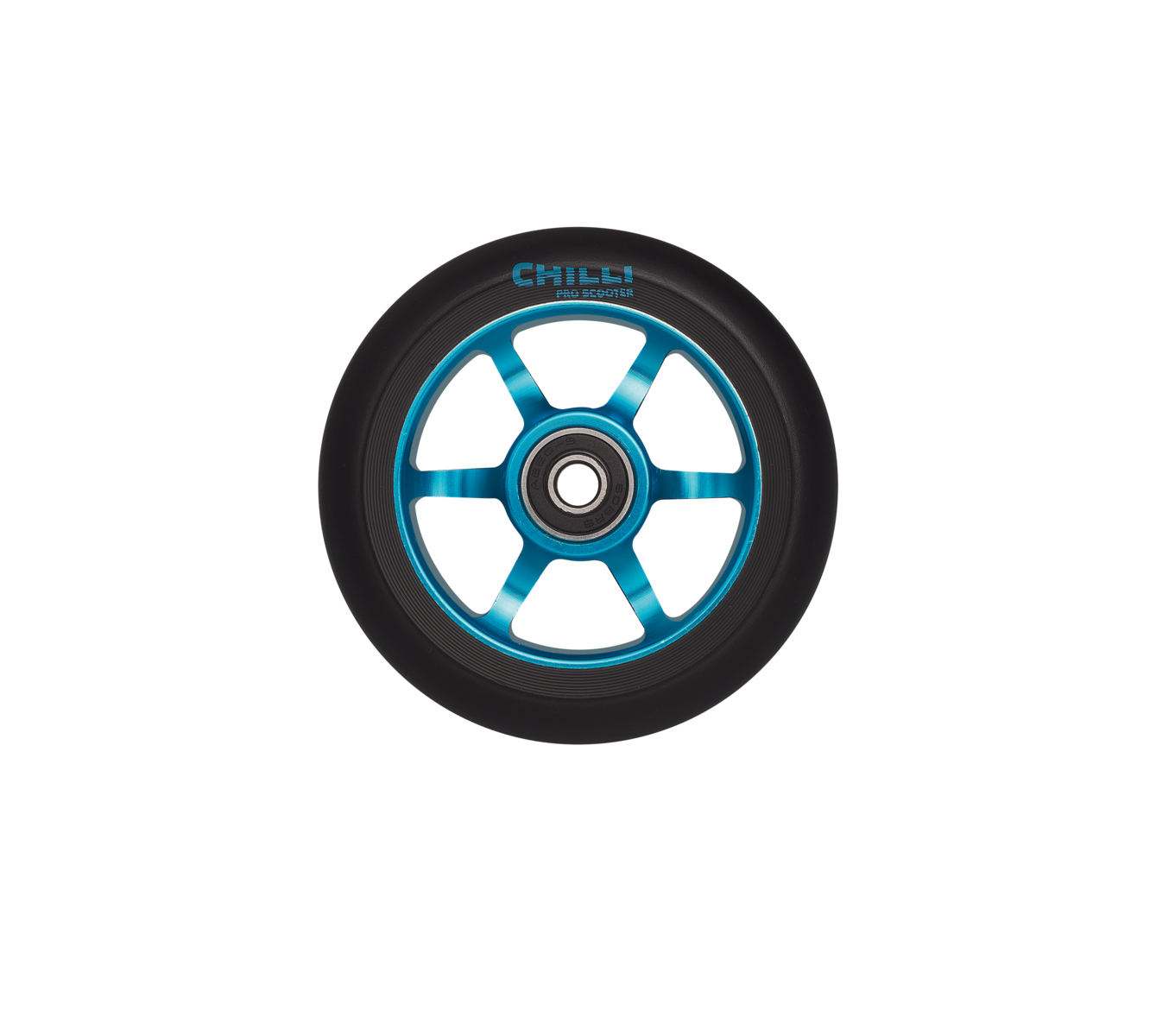 Chilli 3000 Wheel 100mm Blue