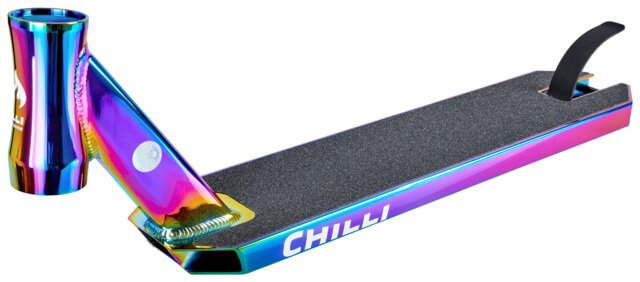 Chilli Stunt Scooter Deck Neochrome